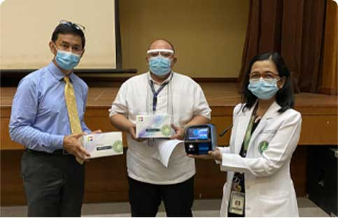 RITM receives antigen analyzer machine from COVID-19 testing firm